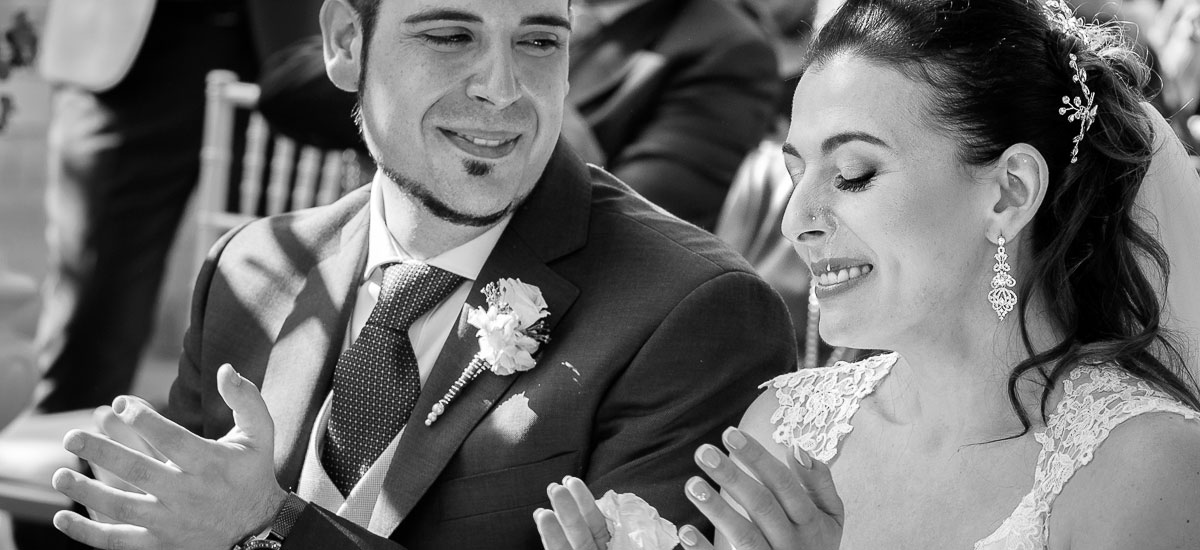 Fotografi­as de boda con un estilo natural