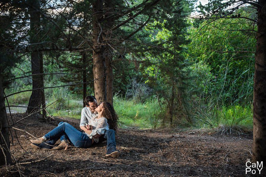 Una romántica preboda de montaña (6)