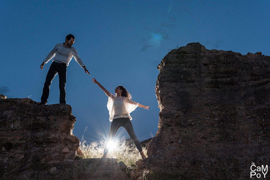 Una romántica preboda de montaña (2)