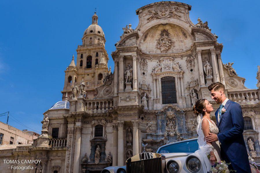 Reportaje de boda en la Catedral de Murcia