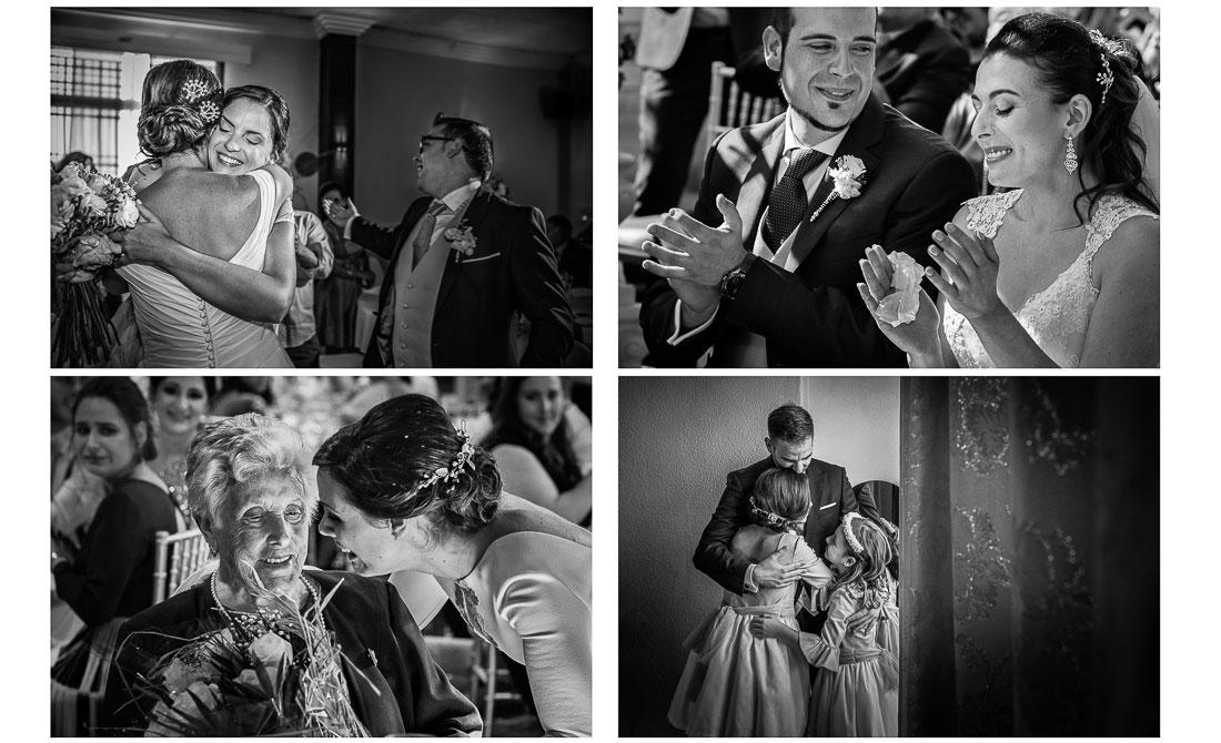 Fotografía de boda tras el Coronavirus.